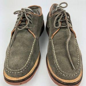 Tommy Hilfiger size 11 Shoes Men's Distressed oliv